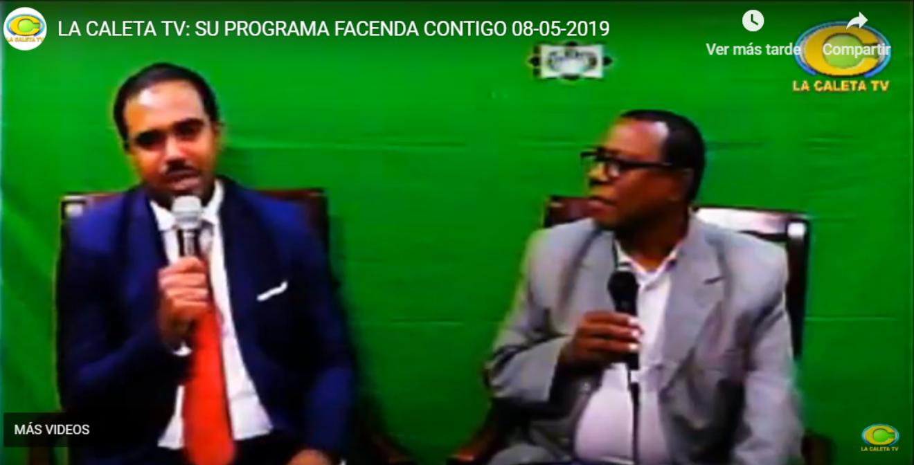 EN VIVO: SU PROGRAMA FACENDA CONTIGO 08/05/2019